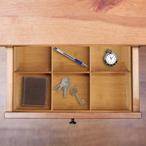 5 x 45 x 32 cm cuisine salle de bain placard bambou bois ...