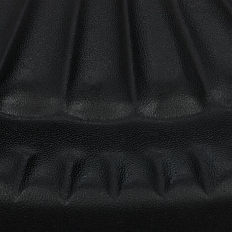Relaxdays Parasol Base, Umbrella Stand, Pole app. 30-45 mm, Weatherproof, Sturdy, Ø 45 cm, Garden & Balcony, Iron, Black