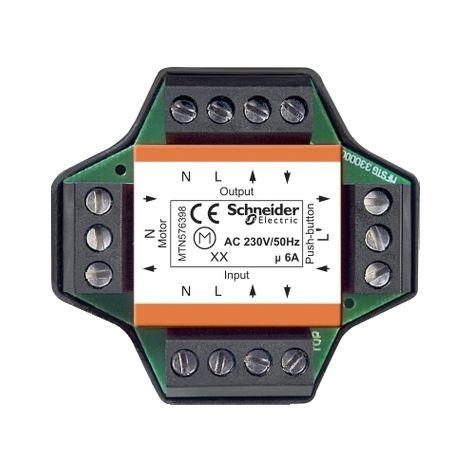 Rele accionador multiple persianas 6A SCHNEIDER ELECTRIC MTN576398