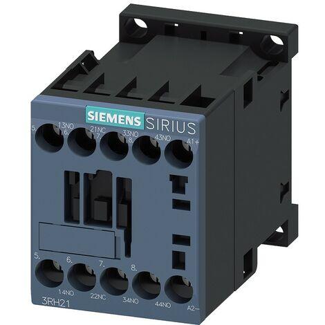 Relé contactor AUX Siemens 4NA 230VAC 10A para S00 3RH21401AP00