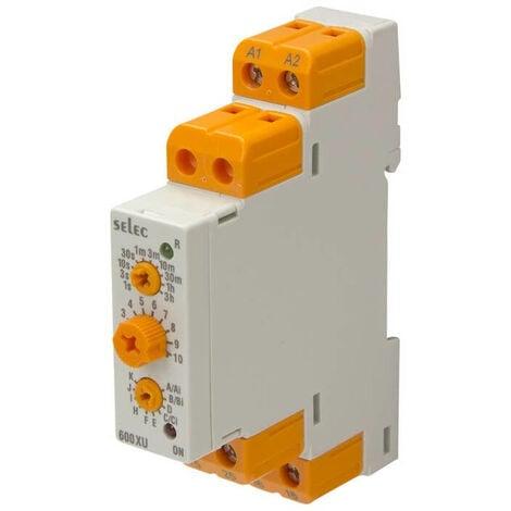 Relé Temporizador Modular Multifunción Analógico 13 Funciones | IluminaShop