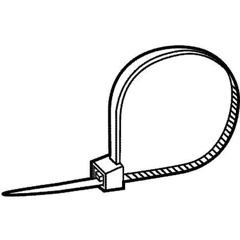 Releasable cable tie Plastic Polyamide (nylon) 6.6