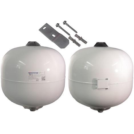 Reliance - Aquasystem 12 Litre Potable Expansion Vessel C/W Bracket XVES050