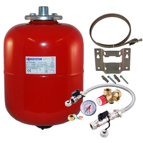 Reliance - Aquasystem 8 Litre Heating Expansion Vessel & Sealed System Kit
