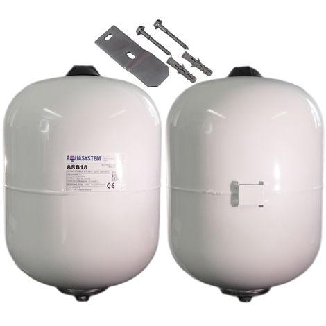 """main image of """"Reliance - Aquasystem ARB18 Litre Potable Expansion Vessel C/W Bracket XVES050055"""""""