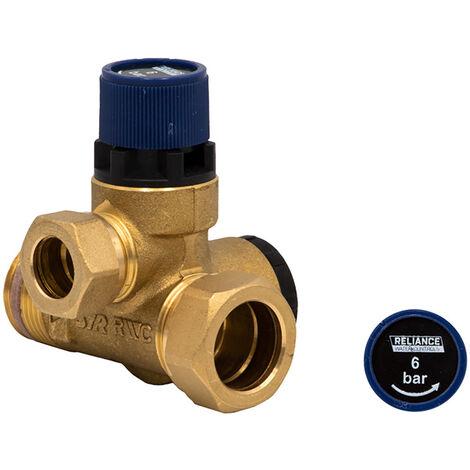 "Reliance Water Controls 6 Bar 3/4"" Core Unit Pressure Relief Expansion Valve"