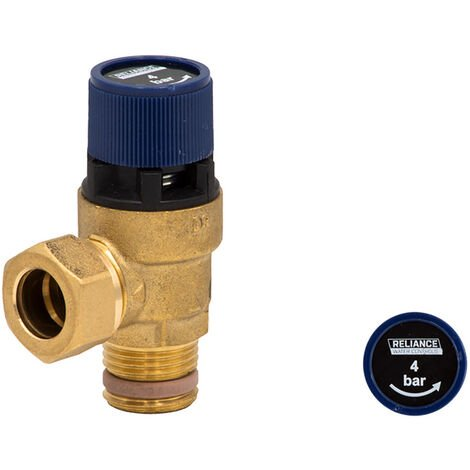 Reliance Water Controls RWC 4 Bar 102 Series Pressure Relief Expansion Valve