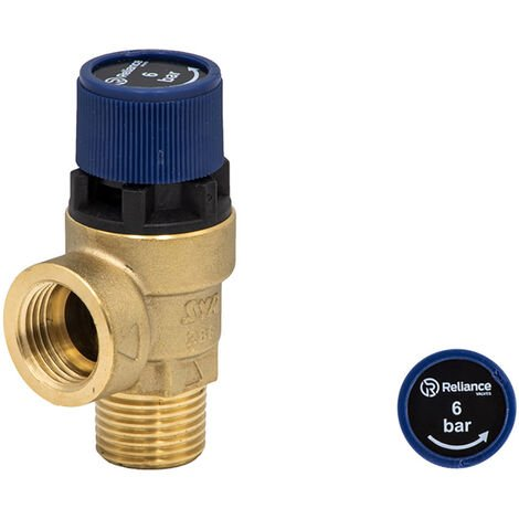Reliance Water Controls RWC 6 Bar 101 Series Pressure Relief Expansion Valve