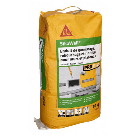 Relleno de polvo SIKA SikaWall All-In-One - 20kg - Blanc