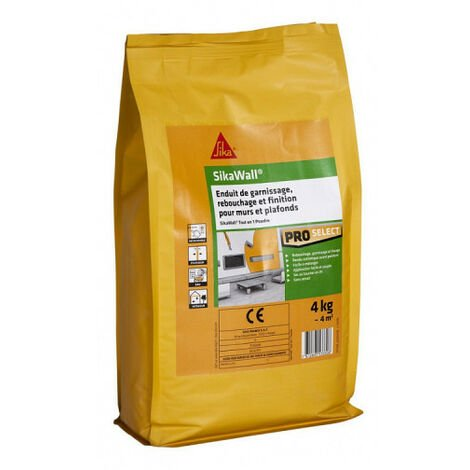 Relleno de polvo SIKA SikaWall All-In-One - 4kg - Blanc