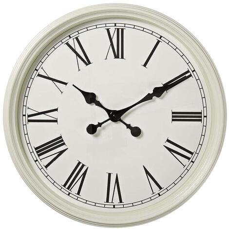 Reloj de pared blanco estilo antiguo ø50cm (Nedis CLWA008WD50WT)