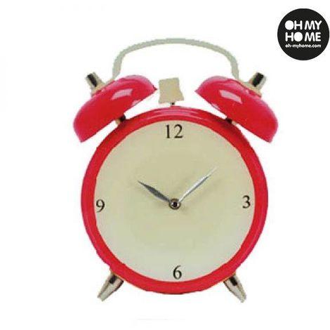 Reloj de Pared de Cristal Despertador Oh My Home