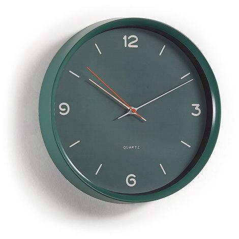 Reloj de pared Diya verde
