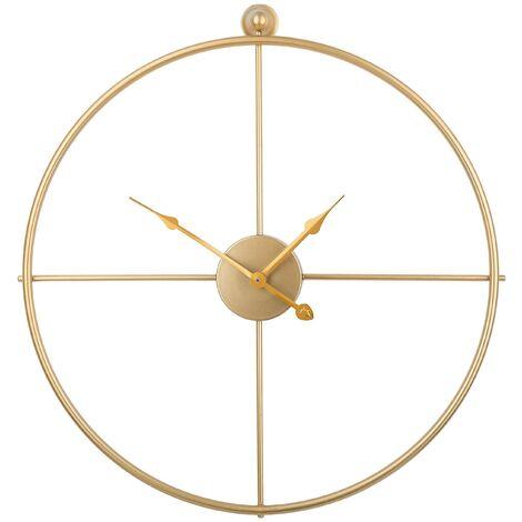 Reloj de pared dorado ZUCHWIL