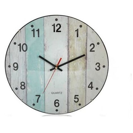 "main image of ""Reloj de pared rustico 30 cm"""