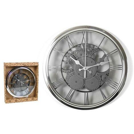 Reloj pared 30.5cm mechanic - plastico