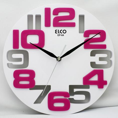Reloj Pared Surtido 25 Cm - ELCO - Ep-64..