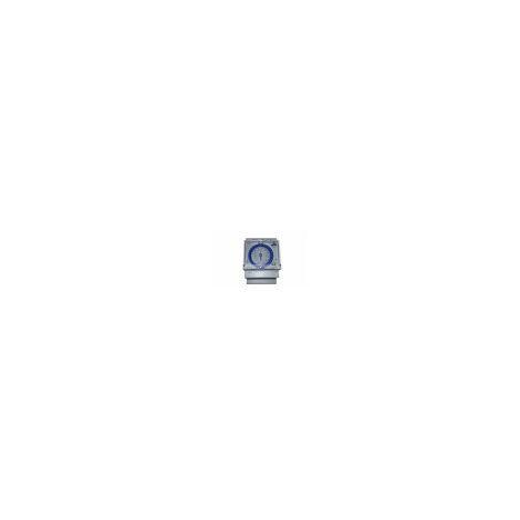 Reloj programador 24H para cuadro eléctrico de piscinas empotable 230v