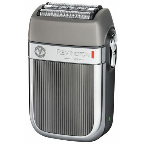 REMINGTON HF9050 Coffret Cadeau Manchester United Edition Rasoir Electrique Grilles Heritage Etanche, Batterie Lithium - 4pcs