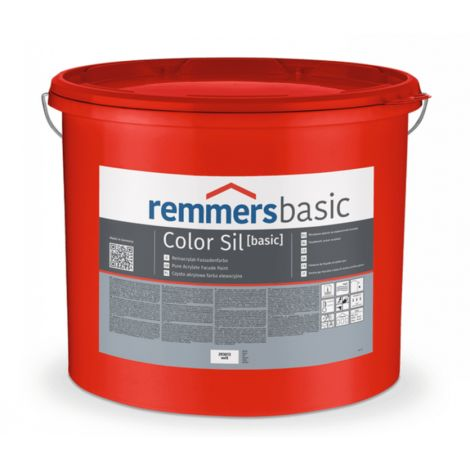 Remmers Color Sil basic | Fassadenfarbe, weiss