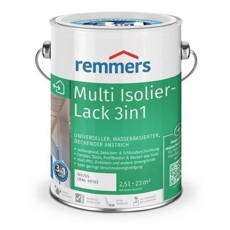 Remmers Multi-Isolierlack 3in1 - weiss (RAL 9016)