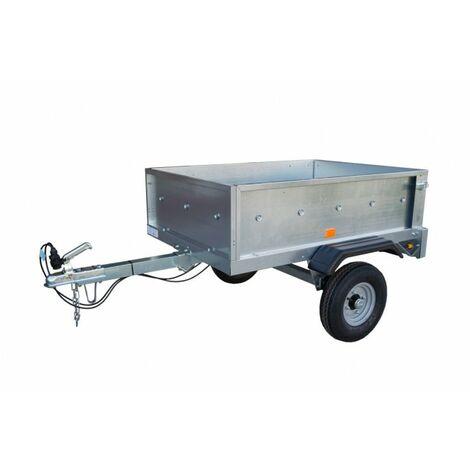 Remolque galvanizado de carga para coche