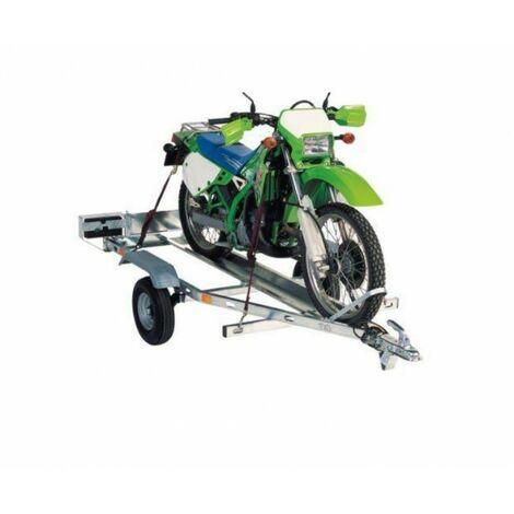 Remolque para motos galvanizado
