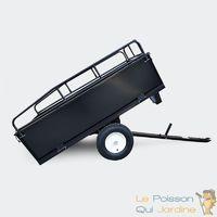 Remorque Basculante De 210 cm Pour Tracteur Tondeuse Auto-Portée