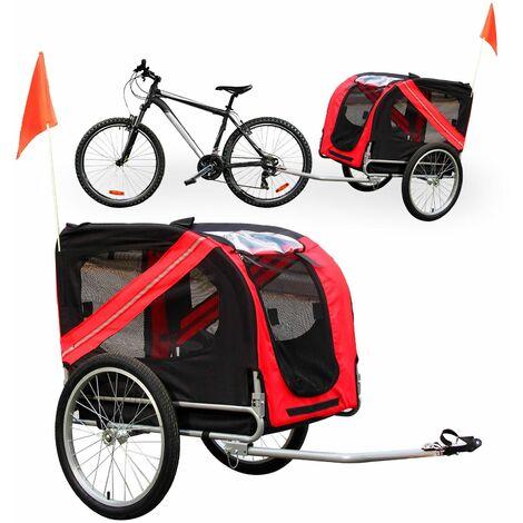 Remorque de vélo pour chien Poussette pour chien Attelage pour chien Chariot Transport de chien