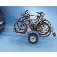 Remorque porte-vélos 2 roues pour 4 vélos Mottez A354S, fixation sur boule d'attelage