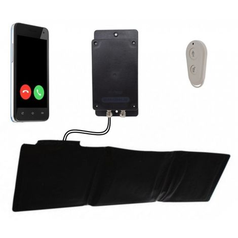 Remote Location Battery 3G GSM Covert UltraDIAL Pressure Mat Alarm