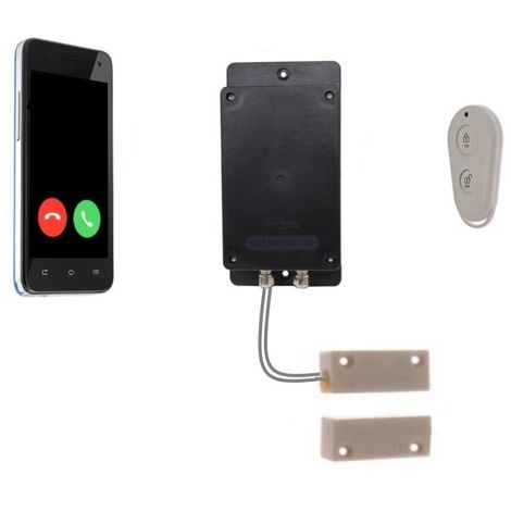 Remote Location Covert Battery 3G GSM UltraDIAL Door Alarm
