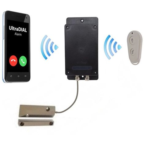 Remote Location Covert Battery 3G GSM UltraDIAL Gate & Door Alarm