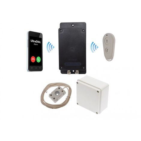 Remote Location Outdoor Battery 3G GSM UltraDIAL Water & Flood Alarm