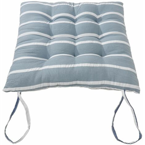 Removable Soft Comfortable Sit Mat Chair Seat Cushions Winter Cushion Cushions with Tie Rope 40x40cm