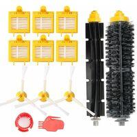 Remplaçant Brosse Kit Pièces accessoires pour iRobot Roomba série 700 760 761 765 770 772 776 780 785 786 790-Un Kit de 13