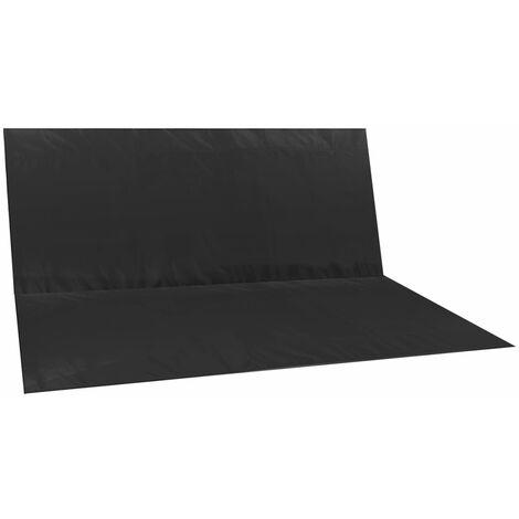 """main image of """"Remplacement de Balancoire étanche Couverture Chaise Banc Patio Extérieur (Noir,2 siège 113x94cm) SwagX"""""""