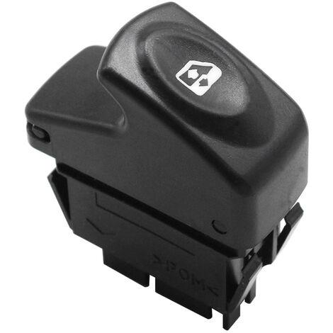 Remplacement pour OE Renault Clio Kangoo Megane interrupteur de fenetre panoramique 6 broches droite 7700838101, modele: noir 259
