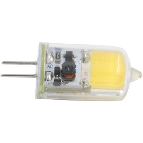 Remplacer La Lampe Halogene G4 Pc Coque En Silicone 12V Cob 2W 200Lm 2700K Ampoule Dimmable, Blanc Froid