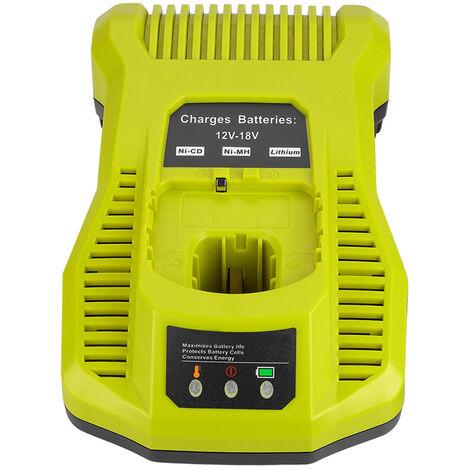 Remplacez le chargeur de batterie lithium-nickel RYOBI P108 P117 12v-18V par la reglementation europeenne