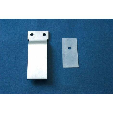 remplazo placa para puertas correderas ducha samo acrux RIC1137 | Cromo