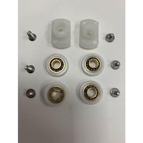 remplazo Rueda excéntrica simple para puerta corredera de ducha samo acrux RIC1136   Grupo deslizante