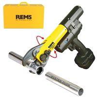 REMS Akku-Radialpresse mit Zwangsablauf Mini-Press Acc im Koffer 578012 Ausführung 578012, Koffer