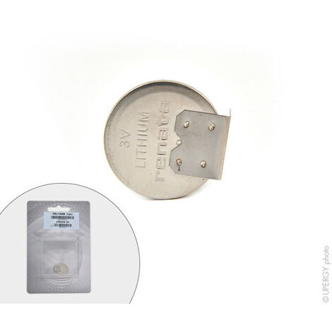 Renata / Swatch Group - Pile bouton lithium blister CR2032 MFR RH RENATA 3V 225mAh