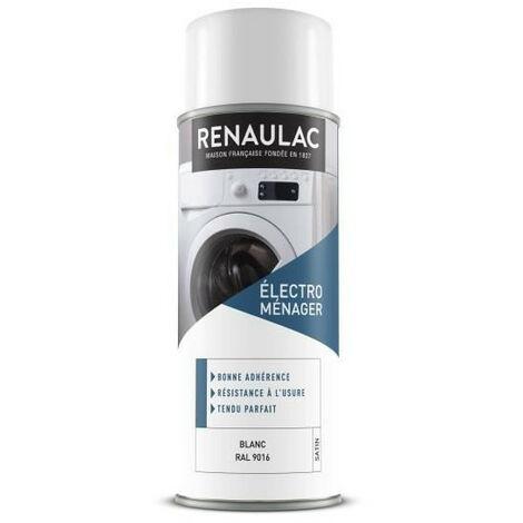 RENAULAC Peinture aérosol électroménager 0,4 L blanc satin