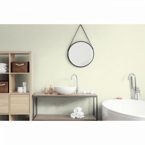 RENAULAC Peinture intérieur monocouche 20 Minutes murs et boiseries - 1L - 10 m² - Blanc ivoire Mat