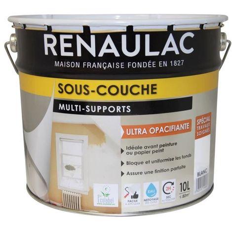 RENAULAC SOUS-COUCHE MULTI-SUPPORTS - 10 L - BLANC C-REZIPECO-00000-10L