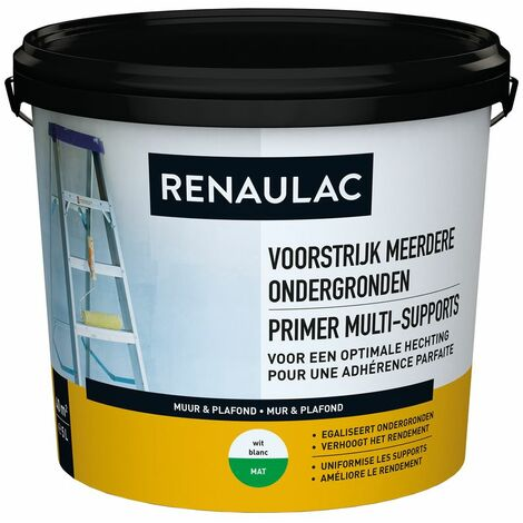 Renaulac Sous-couche Multi-Supports Blanc 5L