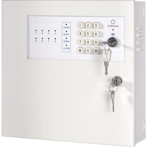 Renkforce Alarmzentrale MAC-608 MAC-608 Alarmzonen 8x Drahtgebunden D31201
