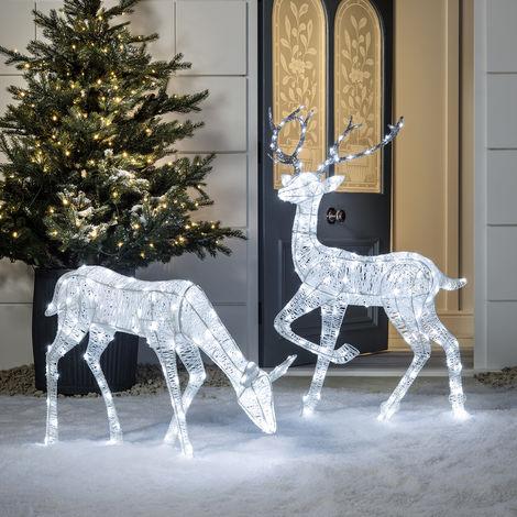 Renne Lumineux LED de Noël pour Intérieur ou Extérieur